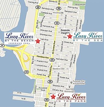 Jersey Shore Seaside Heights Boardwalk Address