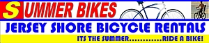 Jersey Shore Summer Bicycle Rentals